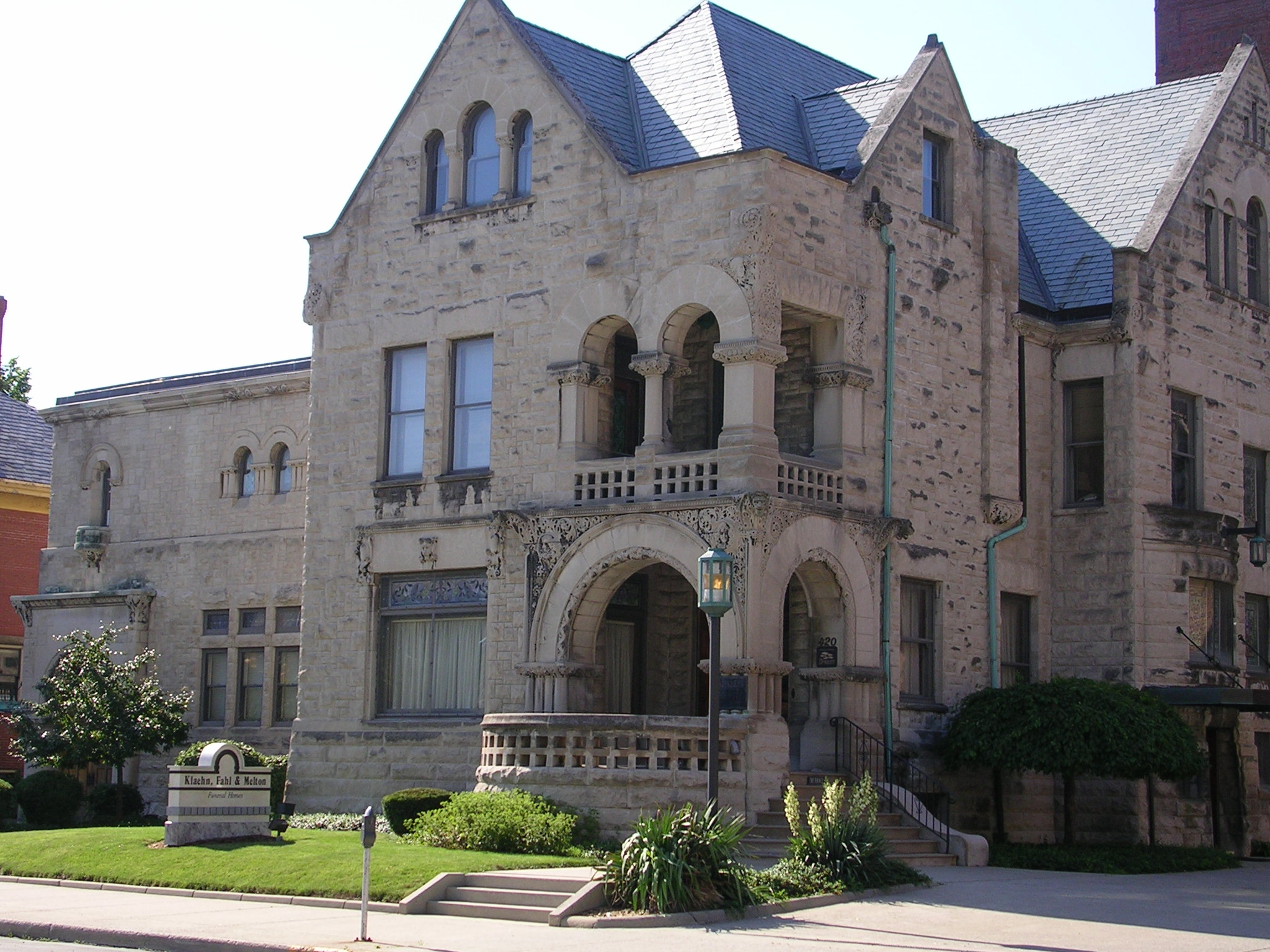 Romanesque style houses