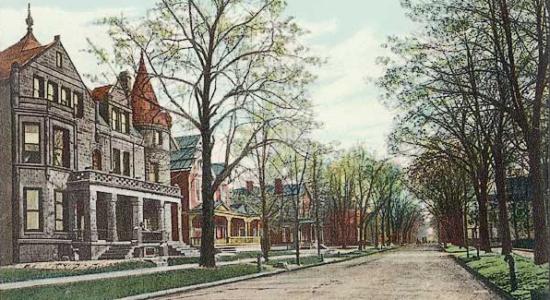 West Berry Street from Fulton street