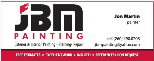 JBM Painting -$150