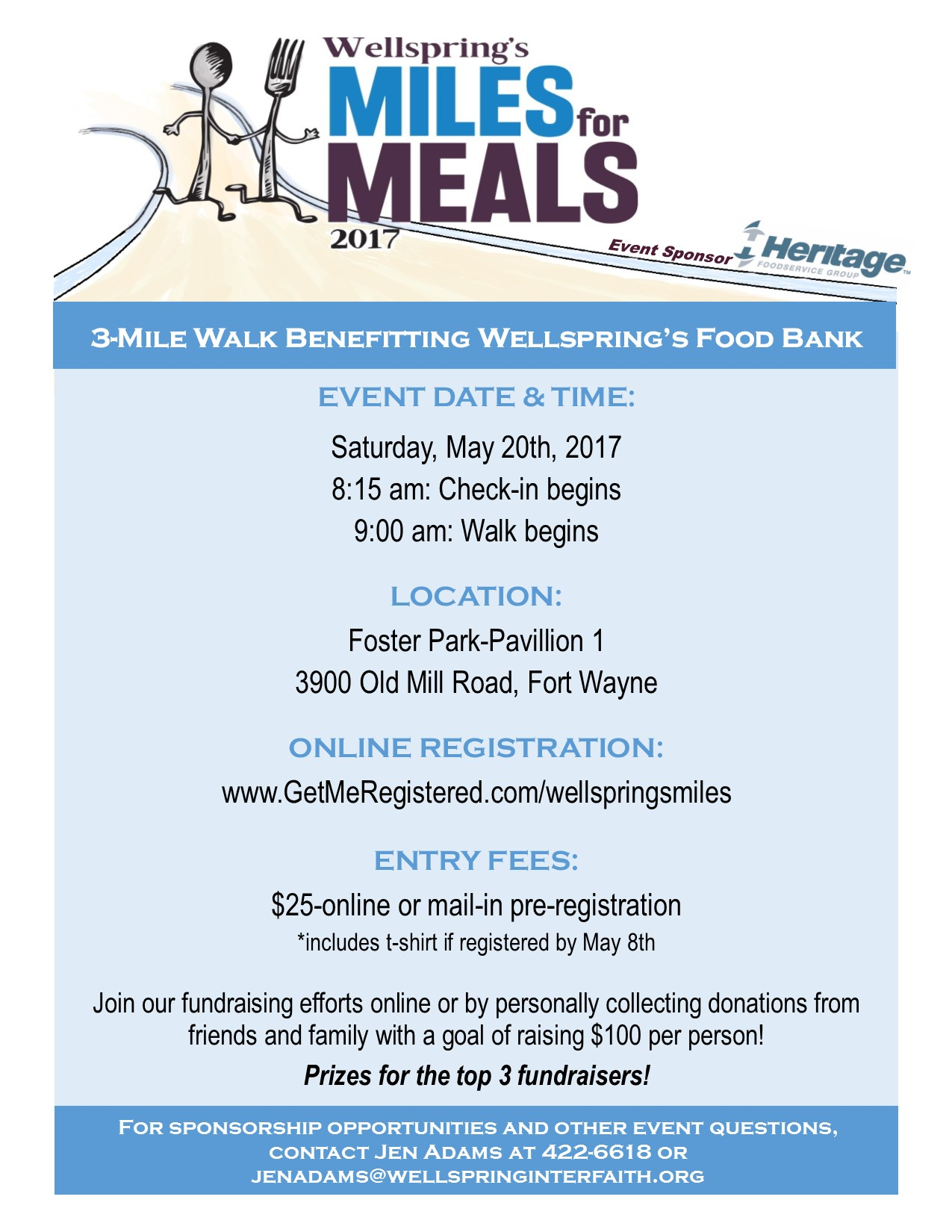 2017 Miles for Meals Flyer 1